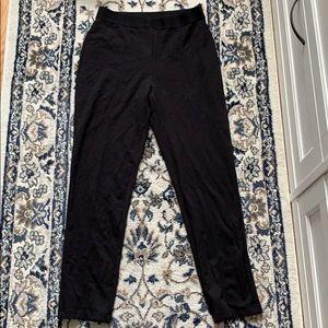 Uniqlo Black Stretchy Work Pants